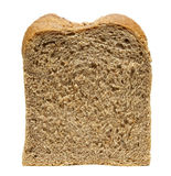 Bread slice 1. Still life of bread loaf on white background with clipping path Royalty Free Stock Image