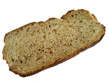 Bread slice Royalty Free Stock Photos