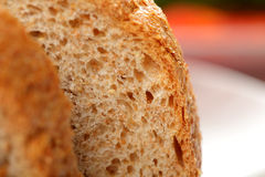 Bread slice Stock Image