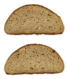 Bread slice. Two bread slice. Soft and flavorous. Good for the health Royalty Free Stock Photography
