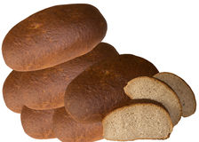 Bread. Bread Slice Brown Bread All Wheat Food White Healthy Feeding Muka Horizontal Pain Color royalty free stock photos