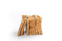 Bread slice in group Royalty Free Stock Photo