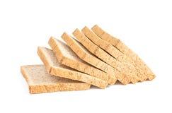 Bread slice isolated on white background Stock Image