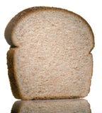 Bread slice. Sliced bread single on white Royalty Free Stock Image