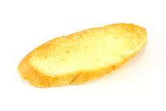 Bread slice toasts Stock Photo