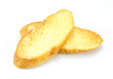 Bread slice toasts Stock Images