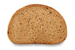 Bread slice. On white background Stock Photo