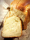 Bread sliced. Royalty Free Stock Image