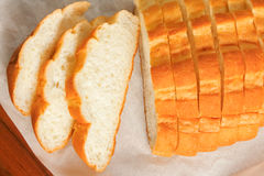 Bread sliced Royalty Free Stock Images