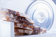 Bread slicer Stock Images