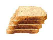 Bread slices. Stack of bread royalty free stock photography