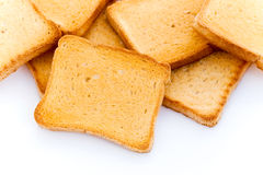 Bread slices Royalty Free Stock Images