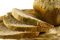 Bread slices Royalty Free Stock Photos