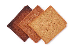 Bread slices Stock Photos