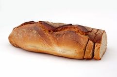 Bread and slices Stock Photography