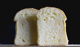 Bread slices Royalty Free Stock Photography