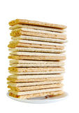 Bread slices for breakfast Stock Photos