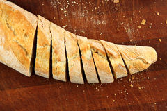 Bread in slices Royalty Free Stock Photos