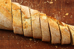 Bread in slices Royalty Free Stock Image