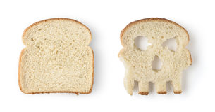 Bread slices Stock Photography