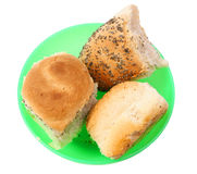 Bread in small bowl Stock Photography