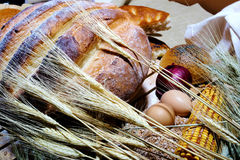 Bread specialities Royalty Free Stock Photos