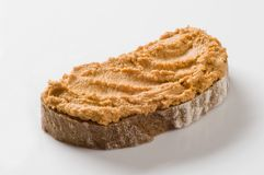 Bread and spread Royalty Free Stock Photo