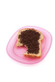 Bread with sprinkles Stock Photos