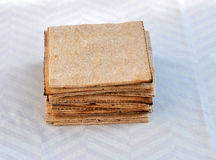 Bread in squares Stock Photography