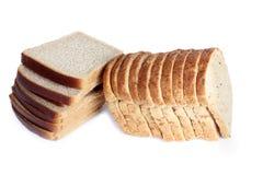 Bread stack Stock Photo