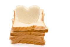 Bread stack up Stock Images