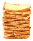 Bread stacks Royalty Free Stock Photography