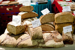 Bread Stall Royalty Free Stock Photo