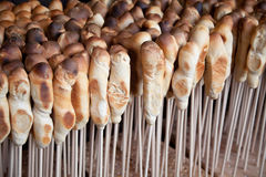 Bread-on-a-stick Royalty Free Stock Images