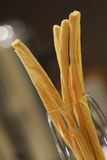 Bread stick in luxury hotel Royalty Free Stock Photos