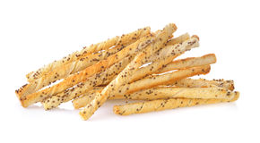 Bread stick with sesame Royalty Free Stock Image