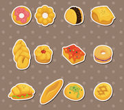 Bread stickers Stock Image