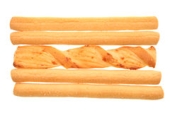 Bread sticks Royalty Free Stock Photography