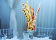 Bread sticks Stock Images