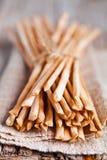 Bread sticks grissini Stock Images