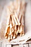 Bread sticks grissini torinesi Stock Photo