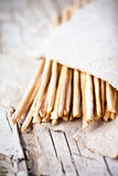 Bread sticks grissini torinesi Stock Images