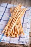 Bread sticks grissini Stock Photos