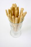 Bread sticks rosemary Stock Image