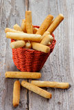 Bread Sticks Stock Photo