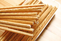 Bread sticks snack Stock Photo