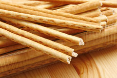 Bread sticks snack Stock Images