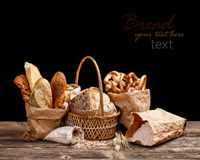 Bread still life Stock Photo