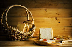 Bread still life Royalty Free Stock Image