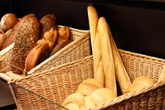 Bread in the store Stock Images